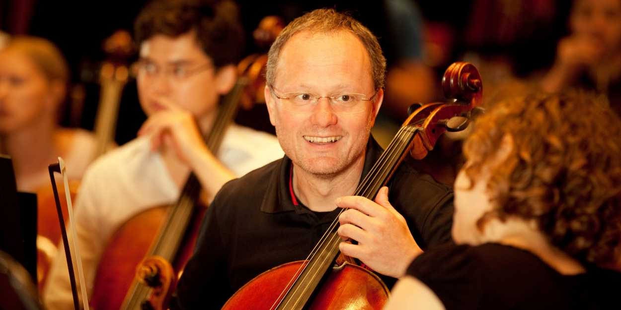 Orchester Portrait Michael Hammermayer, Cellist