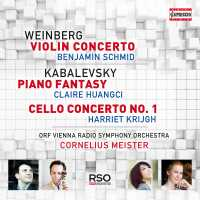 CD Cover Weinberg Kabalewsky