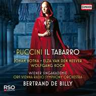 CD Cover Puccini, Il Tabarro