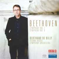 CD Cover, Bertrand de Billy: Beethoven 7 & 8